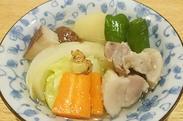 野菜と豚バラのポトフ
