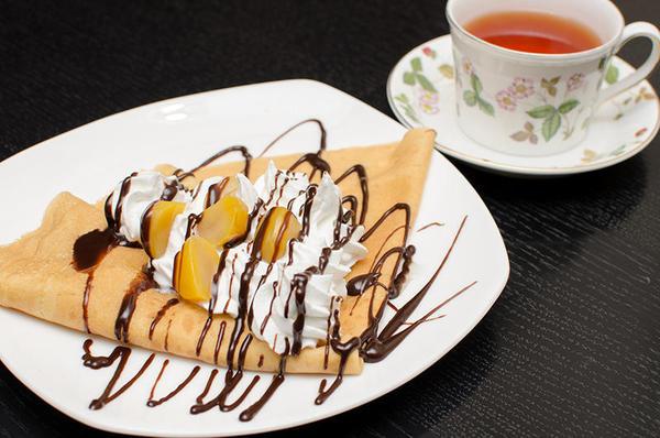チョコマロンクリームクレープ