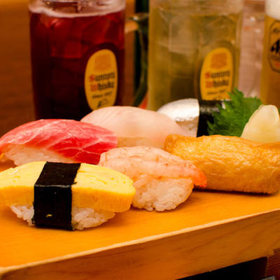 握り寿司といなり寿司