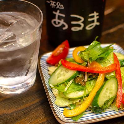 夏野菜のパスタサラダ