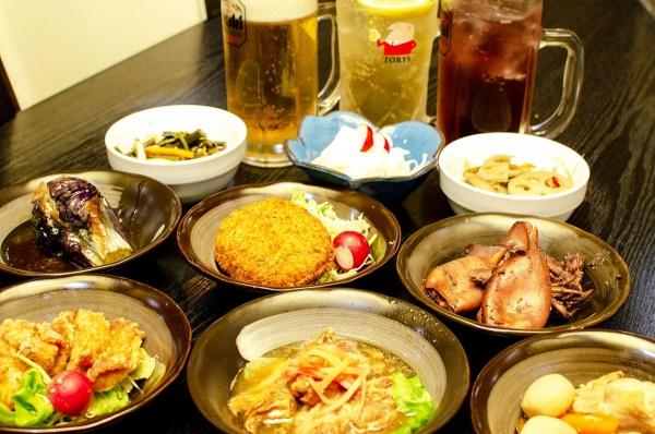 10種類のお惣菜