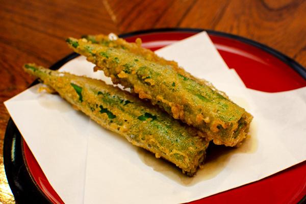上越野菜の天ぷら(天ぷら 若杉)